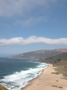 The view from on top of Point Sur