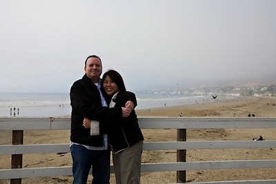 On the Pismo Beach Pier.