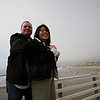 Tony and Stacy on the Pismo Beach Pier.