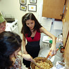 Thanksgiving dinner prep at Mark and Lisa's appt.