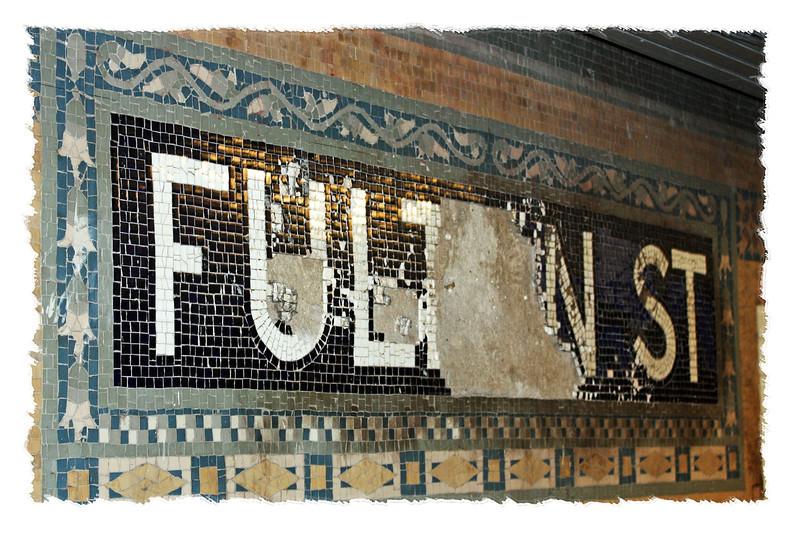 Fulton Street station.