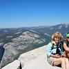 Mom & KJ, enjoying the view.