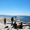 Is Tina really doing yoga on top of Half Dome?