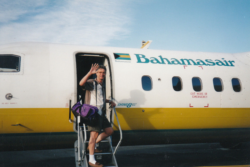 Off to Nassau for the night on Bahamas Air.
