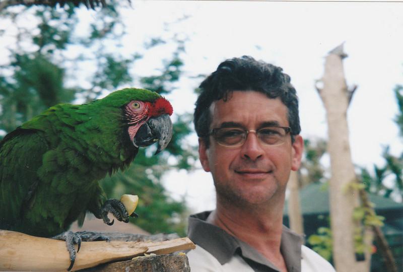 Rustem & parrot.