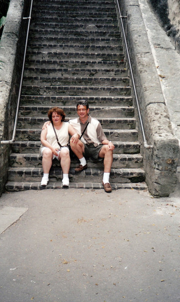 The Queen's Staircase, 65 steps. Nassau.