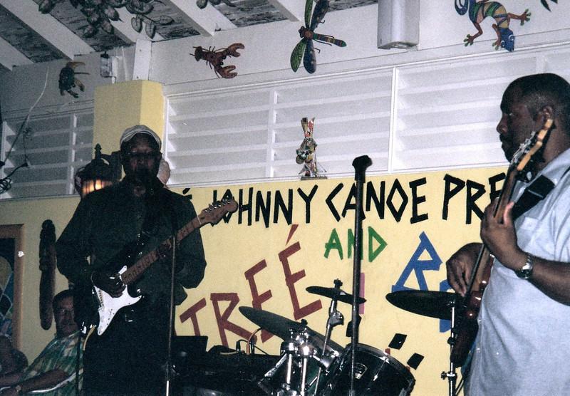 Dinner & music at Johnny Canoe's
