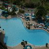 The hotel's outdoor pool - spent a lot of time there