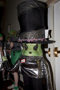 2nd place winner in the Alien costume contest