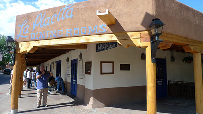 We had lunch here, not too good, in Old Town Albuquerque