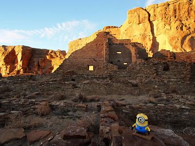 Stuart at Pueblo Bonito