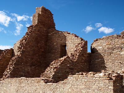 Exterior Rooms at Pueblo Bonito