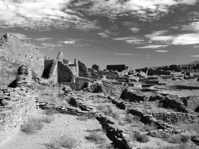 Interior of Pueblo Bonito