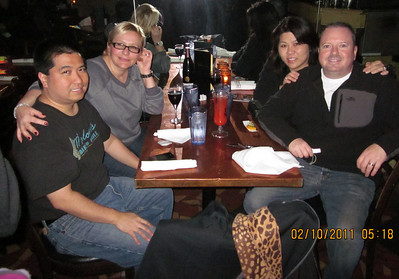 Todd, Autumn, Stacy and Tony at The Original Pierre Masperos restaurant
