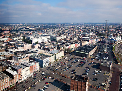 View from The Westin New Orleans Canal Place, 26th floor