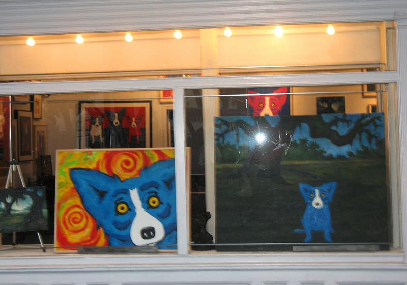Blue Dog Gallery.