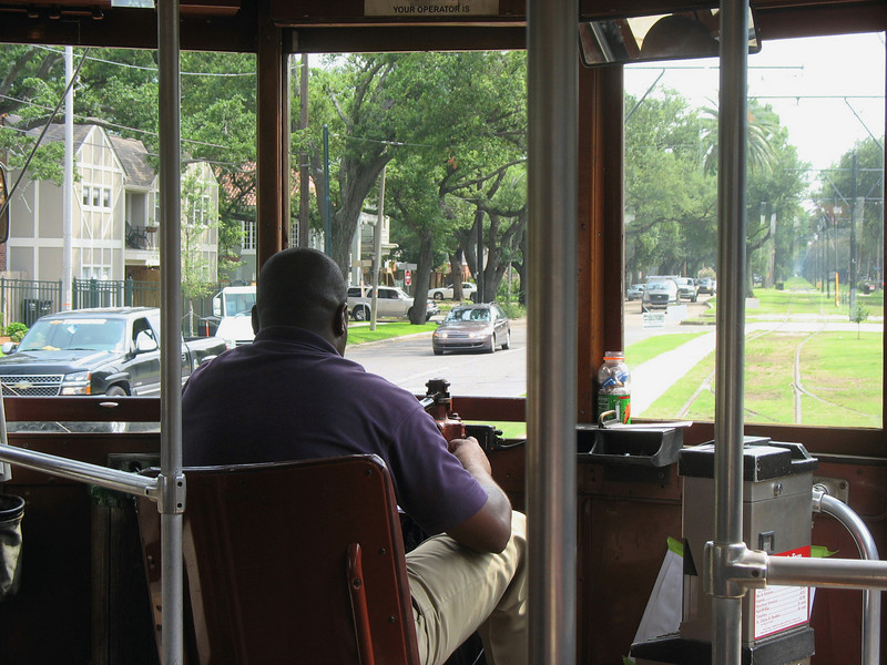 Took the streetcar to the Garden District.