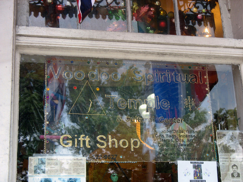 Voodoo Temple & gift shop.