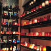 Grotto candles.