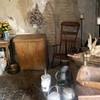 Slave cabin interior.