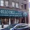The Hello Deli - around the corner from...