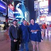 The boys - Times Square on Friday.