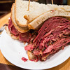 The Woody Allen, corned beef and pastrami.  I finished the whole sandwich!