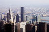 View from The Empire State Building, the Chrysler Building