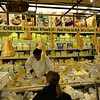 The cheese section at Zabar's
