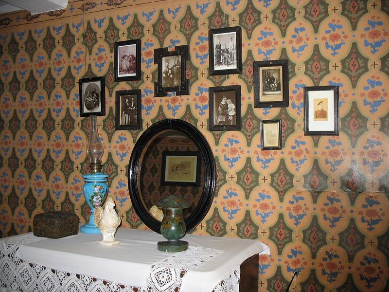 Interior of Maxim Gorky's grandfather's home.