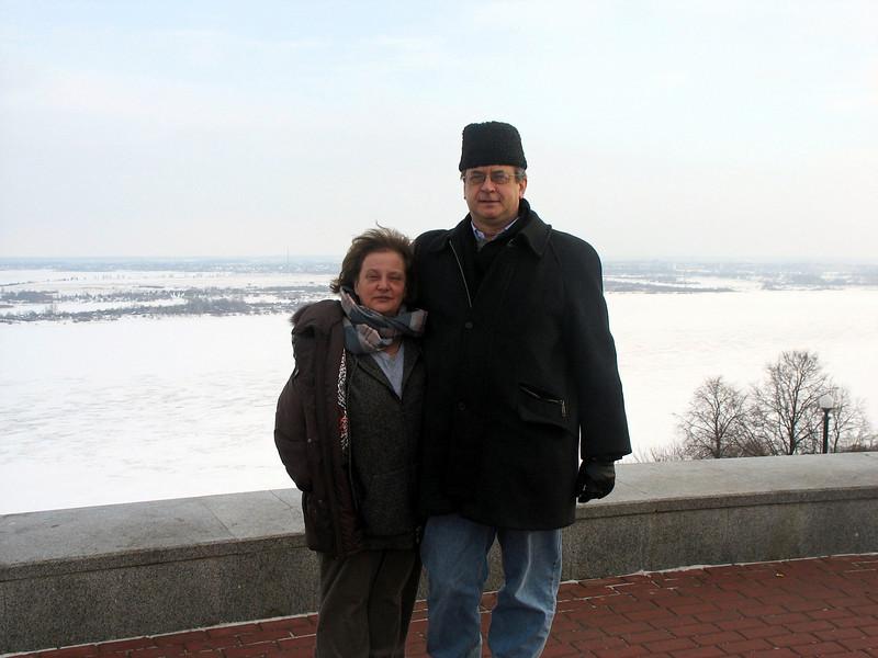 On the Volga.