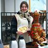 Blini! Sweet Masha serves up pancakes.