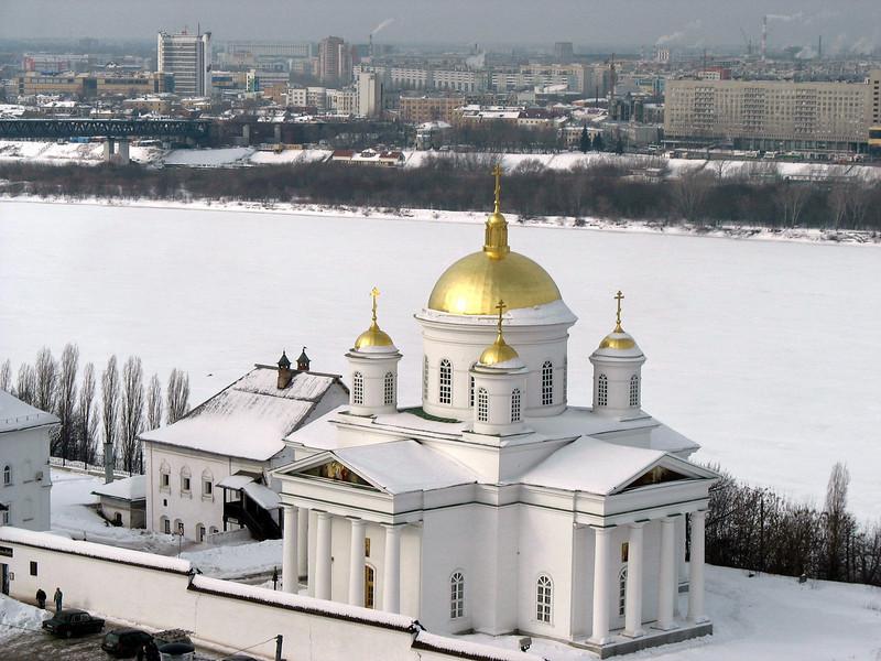 Industrial Nizhny with Church.