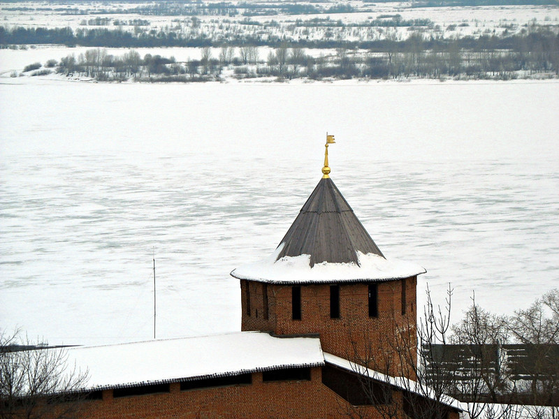 Kremlin tower.