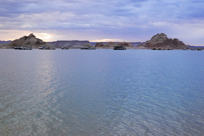 Wahweap Wash and Lake Powell
