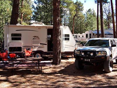 Camp at Jacob Lake