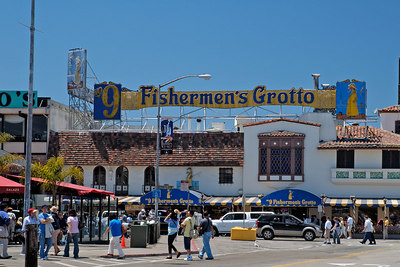 Fishermen's Grotto on Fisherman's Wharf in San Francisco