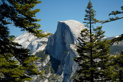 Half Dome as seen from Glacier Point