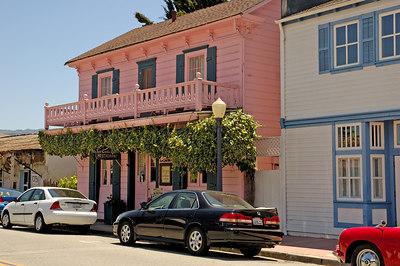 La Casa Rosa Restaurant  in San Juan Bautista California
