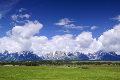 Teton's near Cunningham Ranch