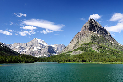 Mt Gould and Swiftcurrent Lake