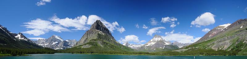 Swiftcurrent Lake Panorama