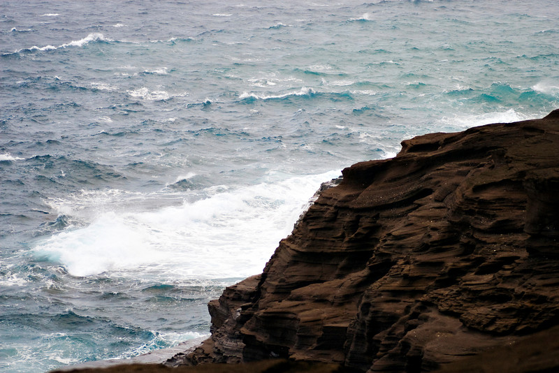 Spitting Cave of Portlock.