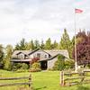 Main lodge at the Lost Mountain Lodge B&B.