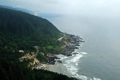 The view from Cape Perpetua