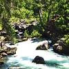 Natural Bridge in Jackson County Oregon. Water flows through a lava tube.