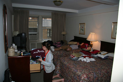 Our hotel room at the Salisbury was great, lots of space to spread out for 8 days!