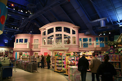 Huge Barbie Doll house
