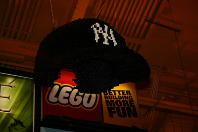 again, Lego Yankees hat