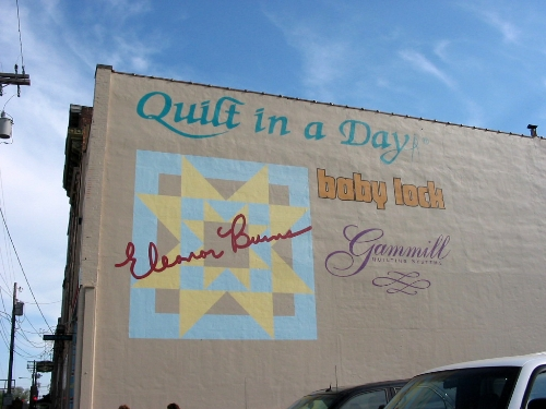 Apr 2008 Day 6  The Eleanor Burns Quilt in a Day shop